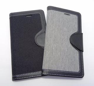 Funda Protector Flip Cover Jeans Samsung Galaxy S8 Plus