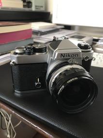 Nikon Fe Com Lente Nikkor 28mm F/3.5 (filme)