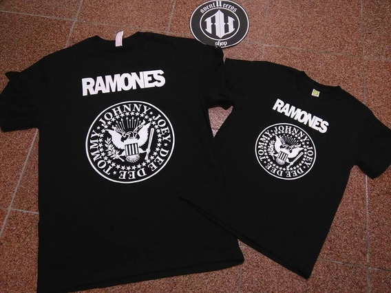 Playeras The Ramones Duo