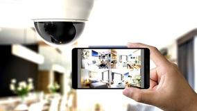 Configuração De Câmeras De Segurança E Vigilância Remota.