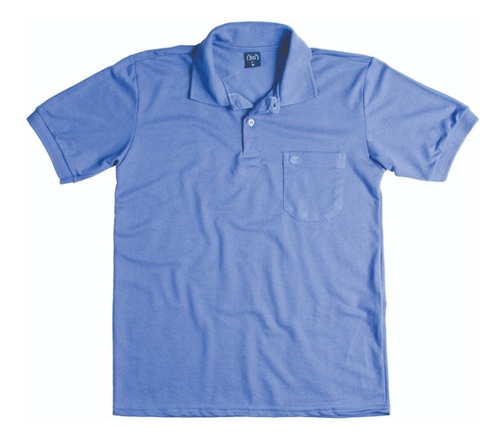 Camisa Pólo Com Bolso Masculina - Ref. 7629