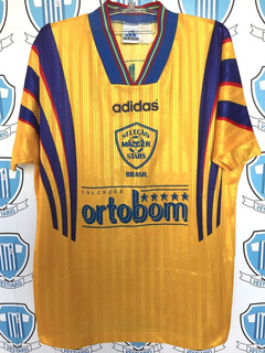 Brasil Seleção Brasileira Masters 1996 adidas Usada Jogo G