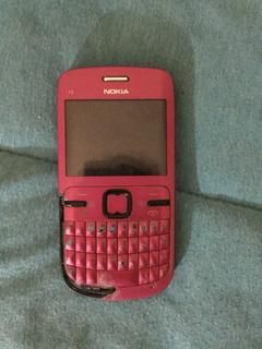 Nokia C3-00 Rosa