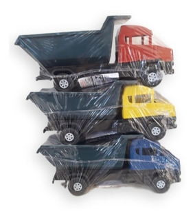 Kit Brinquedos Menino / Menina 5 Caminhões + 5 Bonecas