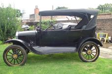 Ford T Modelo 1921. Único Dueño. Excelente Estado