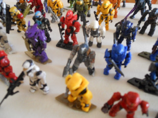 Mega Construx Halo: Lote De 50 Figuras