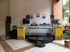 Alquiler De Sonido, Miniteca, Karaoke, Animacion, Dj, Luces,