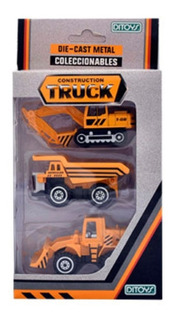 Construction Truck Die Cast Metal - Ditoys 2095