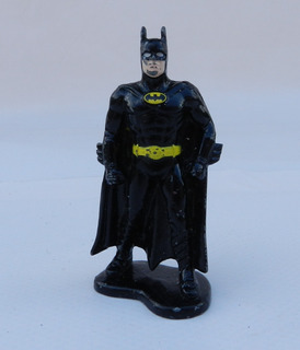 Figura Ertl Batman De Metal Dc Comics 1992 65mm B Wayne Aps