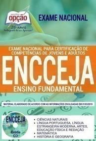 Apostila - Ensino Fundamental - Encceja 2019 - Completa