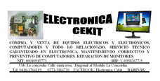 Servicio Tecnico Electronica Cekit. Para Tu Pc O Laptop