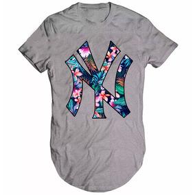 Camisa Camiseta New York Ny Swag Oversized Longline