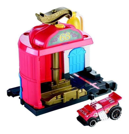 Hot Wheels City Conjunto Básico Estação De Bombeiro - Mattel