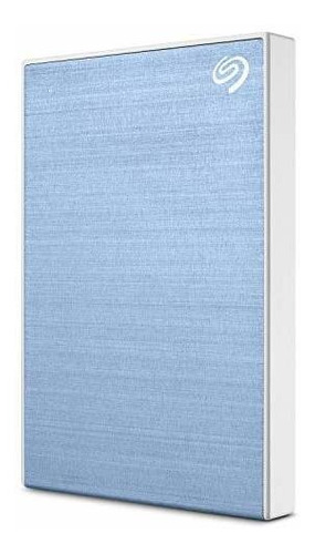 Disco Duro Externo Seagate Portátil De 1 Tb Plus Slim, Azul