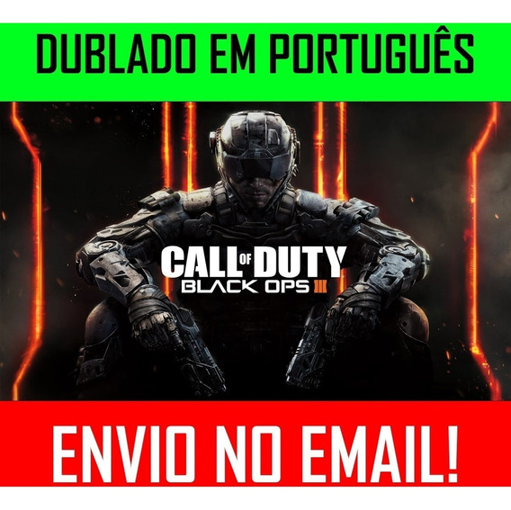 Call Of Duty Black Ops 3 Pc +1 Jogo
