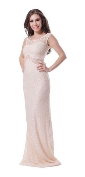 Hermosos Vestidos Con Detalles Metal C/strass-estilo Sirena
