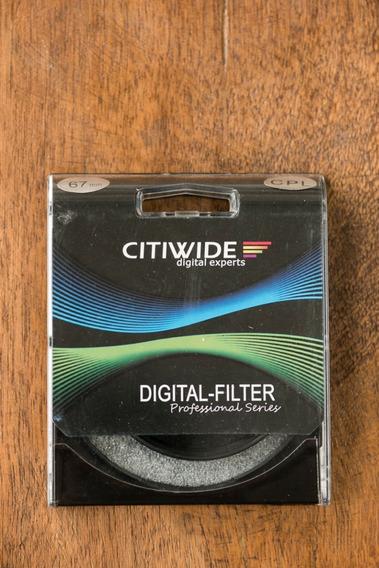 Filtro Citiwide Cpl 67mm