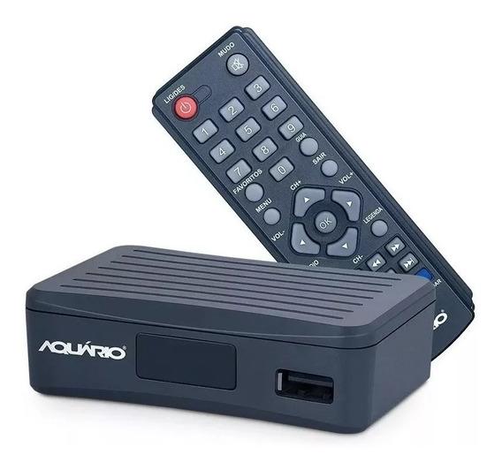 Conversor Digital Aquaário Dtv-4000s Gravador S/cabo Hdmi.