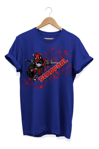 Remera, Marvel, Deadpool Espada Ovni Press