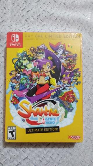 Shantae Edicion Especial Para Nintendo Switch *nuevo*