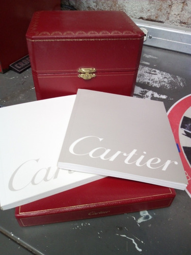 Imagen 1 de 10 de Cartier Estuche Con Manual De Instrucciones Y Certificado