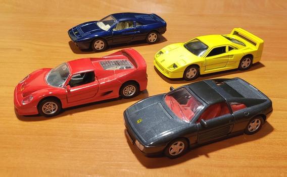 Ferrari Maisto Shell - 4 Autos (f40 - F50 - Gto - 348)