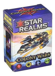 Star Realms Colony Wars Expansion Juego De Cartas Lelab