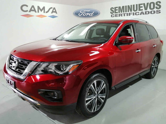Nissan Pathfinder 2018 5p Exclusive V6/3.5 Aut