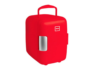 Rca Mini Refrigerador Color Rojo Electrodoméstico Rc-4r
