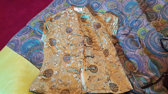 Camisa China Town Ts Rasada Estampada