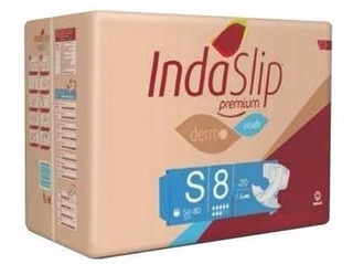 Pañales Indaslip Premium S8 X 20 Unid.