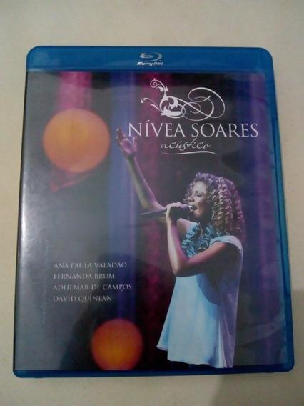 Blu-ray Nívea Soares Acústico Original Novíssimo.
