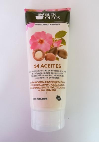 Crema Corporal Humectante 14 Aceites Blen 63509