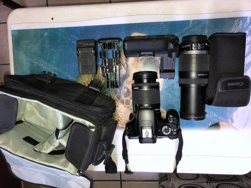 Câmera Profissional Canon Eos 1100d  Rebelt3i - Kit Completo
