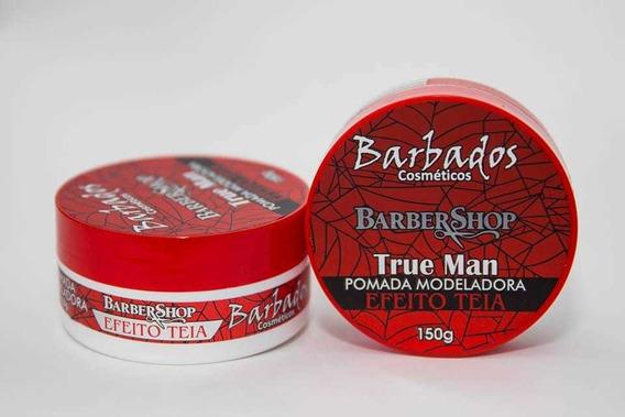 48 Pomadas Modeladora Teia Barbados Cosmeticos