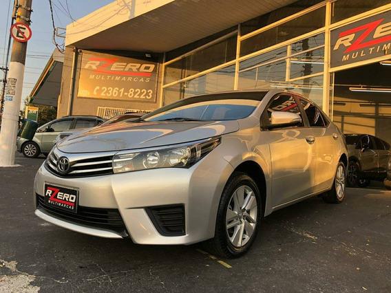 Toyota Corolla 2017 Gli Upper Automático 63.000 Km Revisado