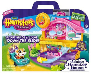 Mansion Hamster In A House 5102