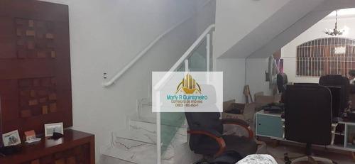 Imagem 1 de 9 de Sobrado Com 2 Dormitórios À Venda, 126 M² Por R$ 470.000 - Vila Barros - Guarulhos/sp - So0022