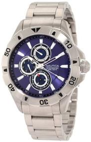 'nst Stainless Ca Nautica Multi' 06 Men's Quartz Steel Reloj drCxtsQh