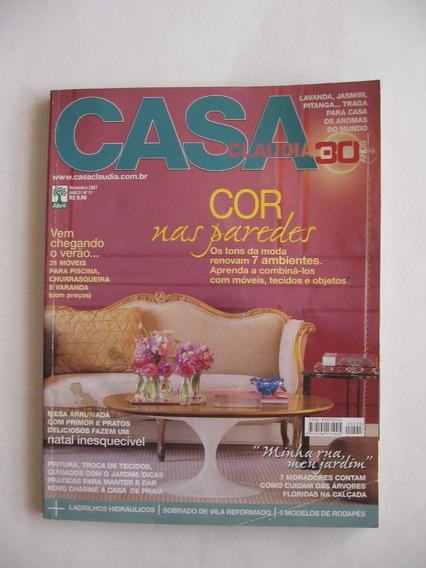 Revista Casa Claudia - Nº 555 - Cor Nas Paredes