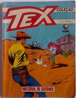 Tex Coleção N° 9 No Covil De Satânia 1987