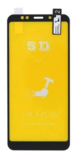 Película De Vidro 5d Xiaomi Redmi 5 Plus Full Cover - Preto