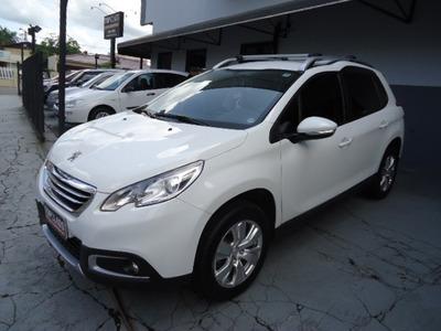 Peugeot 2008 Allure 1.6 Flex 122cv 4p Aut Ano 2016 Branco
