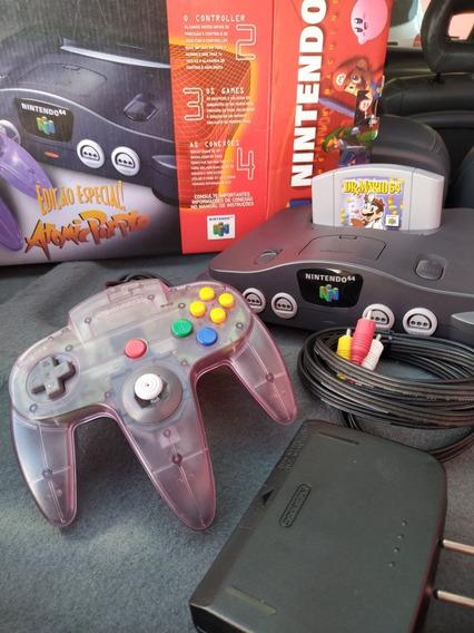 Nintendo 64 Atomic Purple