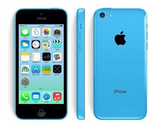 iPhone 5c 16gb Azul Desbloqueado 16gb Gsm Telefone Novo