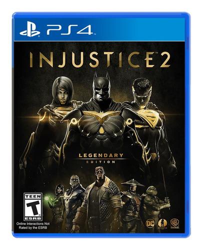 Injustice 2 Edicion Legendaria Ps4 Disponible