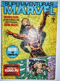 Hq - Superaventuras Marvel - Nº 38 ( Desgastada)