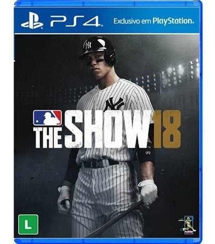 Jogo Mlb The Show 18 Ps4 Física Lacrada