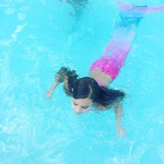 Cola Sirena Para Nado: Monoaleta + Cola Sirena + Punteras