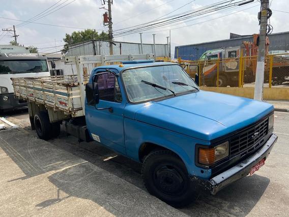 Chevrolet D40 Ano 1987 Equipado Com Carroceria.